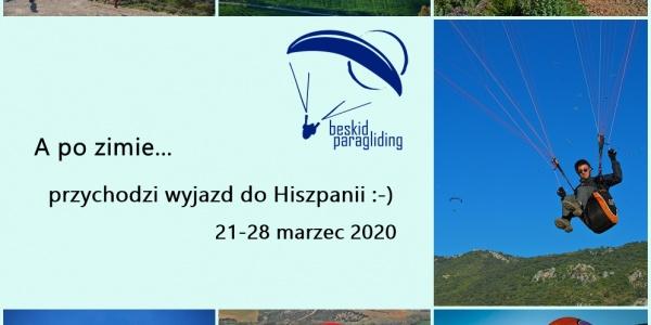 Hiszpania - Andaluzja. Marzec 2020